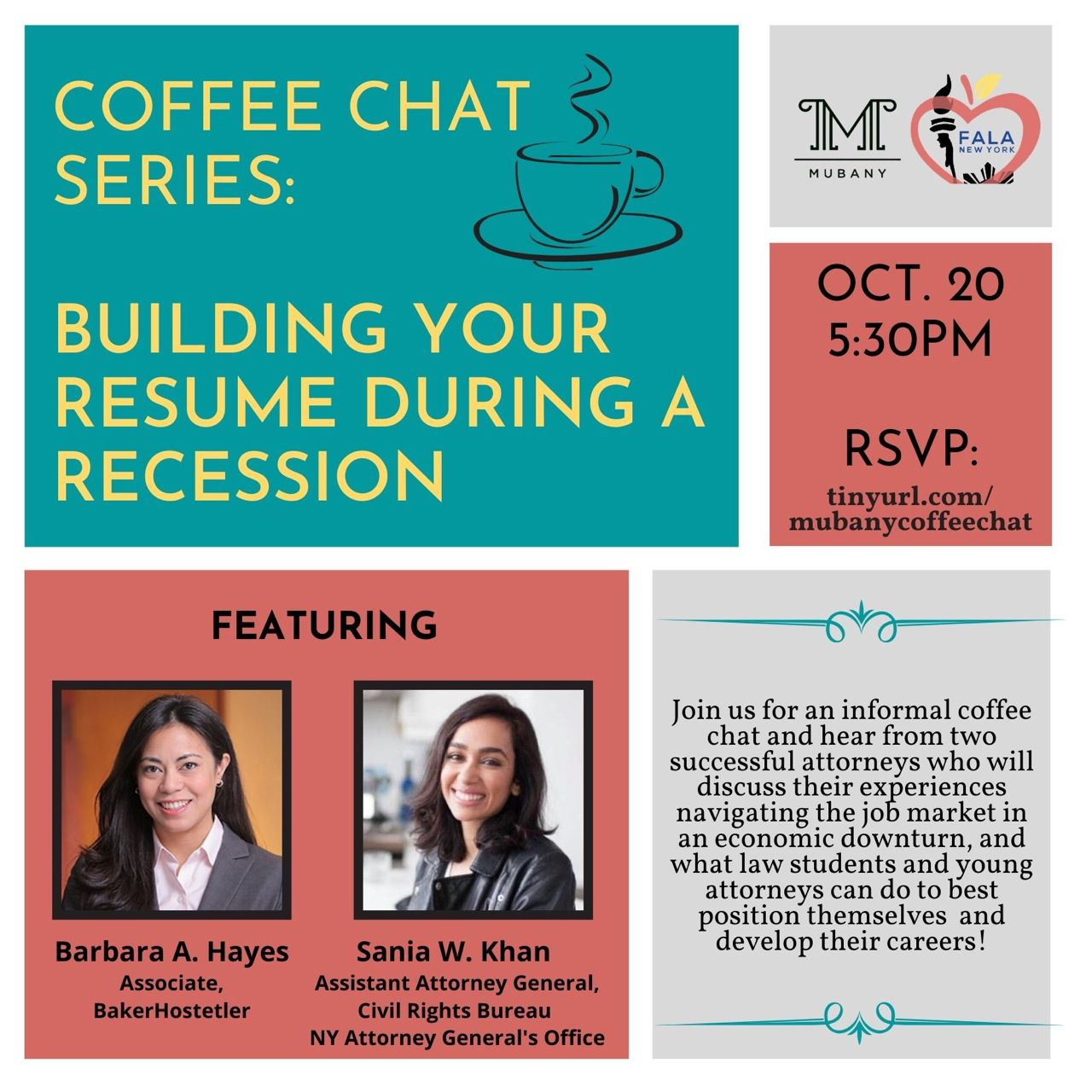 ☕️ Coffee Chat Series!☕️ ✨Building Your Resume During A Recession✨